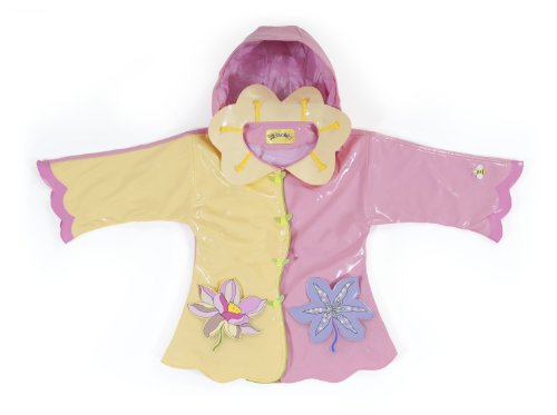 Kidorable Little Girls' Lotus Raincoat