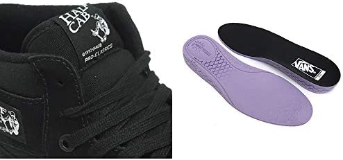 SHOES シューズ スニーカー HALF CAB PRO 黒/黒/白 BLACK/BLACK/WHITE(US規格) スケートボード スケボー SKATEBOARD