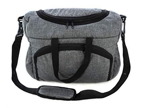 Bolso Parasilla de paseo organizador Bolsa para panales Gray gris [059]