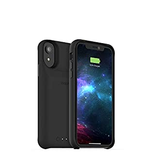mophie 401002821 Juice Pack Access - Ultra-Slim Wireless Battery Case - Made for Apple iPhone XR (2,000mAh) - Black