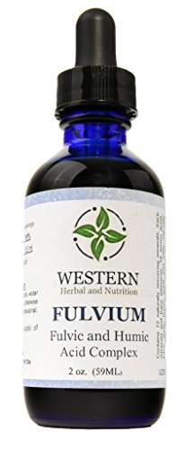Western Herbal and Nutrition | Fulvium | Fulvic and Humic Acid Complex | Increase Energy and Immune System | Promotes Digestive Tract Health | 2 oz Bottle (59ML)