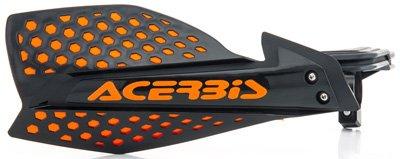 Acerbis Atv - Acerbis 7/8 or 1 1/8 X-Ultimate MX Motocross ATV Handguards Black/Orange
