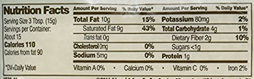 Let's Do Organic Unsweetened Coconut Shredded, Fine Shred, 8 oz (2 Pack)