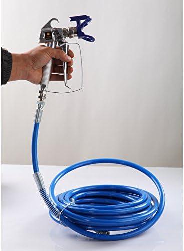 compatible con Wagner Titan Graco Spary Pistola de herramientas el/éctricas Tubo de manguera de pulverizaci/ón de pintura sin aire de 3300 psi KongQi
