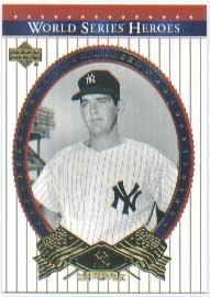 World Upper Series Deck (2002 Upper Deck World Series Heroes Baseball Card #76 Don Larsen Near Mint/Mint)