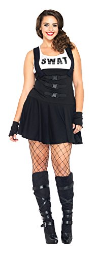 Adult-Costume Sultry Swat Adult Costume 1X-2X Halloween Costume  sc 1 st  Costume Overload & Womenu0027s SWAT Uniform Costumes for Halloween u0026 Parties