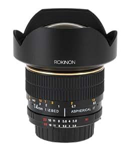 Rokinon 14mm f/2.8 IF ED MC Super Wide Angle Lens for Nikon (No AE chip)