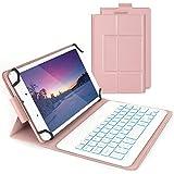 Bluetooth Backlit Keyboard Case for 7-8 Inch