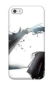 Tpu Case For Iphone 5/5s With Ichigo Vs Grimmjow