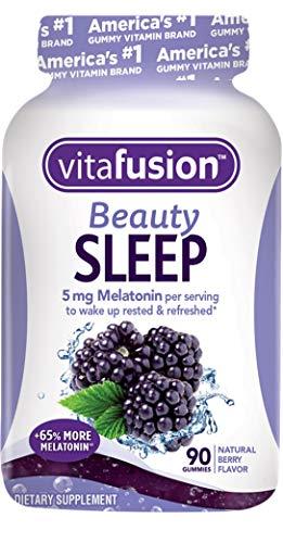 - Vitafusion Beauty Sleep Gummies, 90 Count (Packaging May Vary)