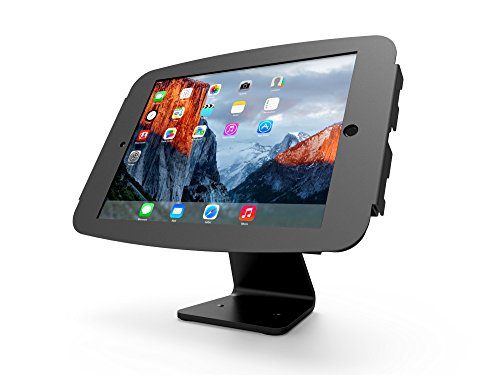 Maclocks 303B290SENB Secure Space Enclosure Kiosk with 360 Degree Rotation for iPad Pro 12.9 (Black ) by Compulocks