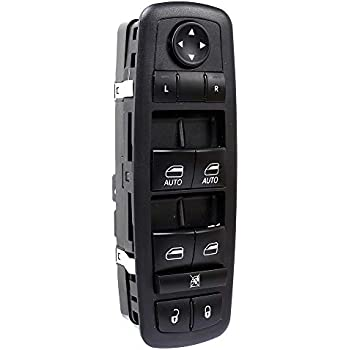 Tepeng Front Left Side Power Window Master Window Switch for Dodge Charger Chrysler 200 C S 300C S Ram 1500 2500 3500 4500 5500 4 Door,OE# 68231805AA 68139805AB 68139805AA 56046823AC