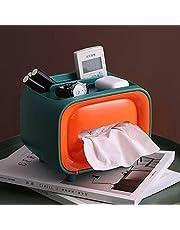 Accessory organizer and tissue box