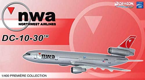 (Northwest Airlines DC-10-30 ( New Livery) 1-400 Dragon Wings )