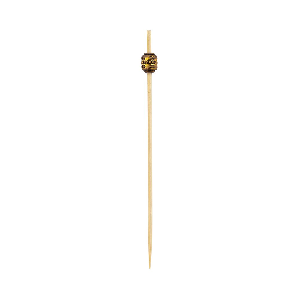 Luxury Gold Metal Beaded Picks - Skewers -  4'' - 1000ct Box - Restaurantware by Restaurantware (Image #10)