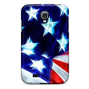 High-quality Durability Case For Galaxy S4(stars And Stripes)