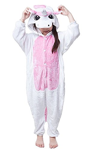 BLIFECOS BELIFECOS Flannel Children Unicorn Cosplay Costume Onesie Pajamas for Boy115