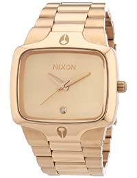 Nixon Men's Player A140897 Rose Gold Stainless-Steel Quartz Watch