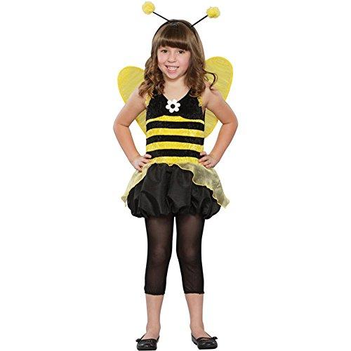 [Girl's Queen Honey Bee Halloween Costume (Size: Small 5-7)] (Little Honey Bee Girls Costumes)