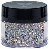 Young Nails False-Nail Glitter, Hologram, 0.25 Ounce