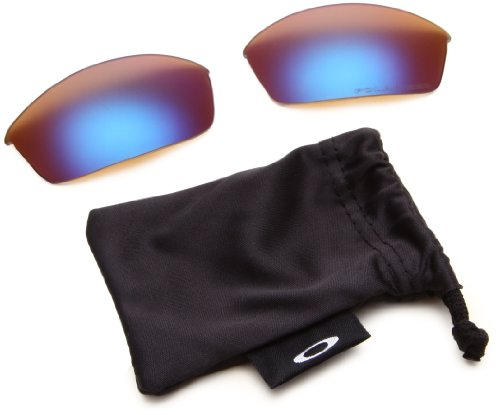 Oakley Flak Jacket Replacement Polarized Lens,Multi Frame/Deep Blue Lens,One Size