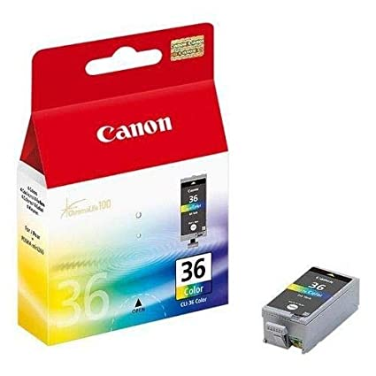 Canon CLI-36 Twinpack de tinta original Tricolor para Impresora de Inyeccion de tinta Pixma iP100-iP100wb-iP110-iP110wb