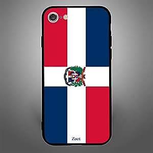 iPhone 8 domnica republic Flag