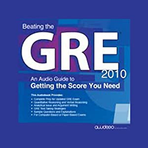 Beating the GRE 2010 Audiobook