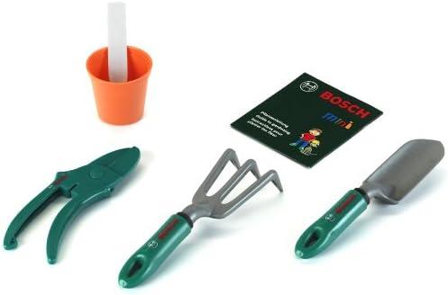 Theo Klein-2784 Bosch set de herramientas de jardín, juguete, Multicolor (2784): Klein - 2784 - Jeu de Plein Air - Set Accessoire de Jardinage Bosch - 5 Pièces: Amazon.es: Juguetes y juegos