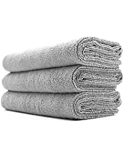 The Rag Company (3-Pack 16 in. x 27 in. Sport, Gym, Exercise, Fitness, Spa & Workout Towel - Ultra Soft, Super Absorbent, Fast Drying 320gsm Premium Microfiber
