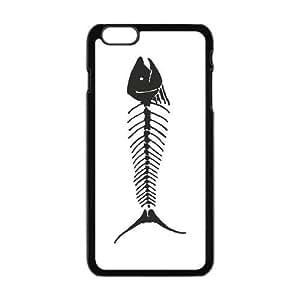 Custom Fish Unique IPhone6 Plus Protective Plastic Cover by lolosakes