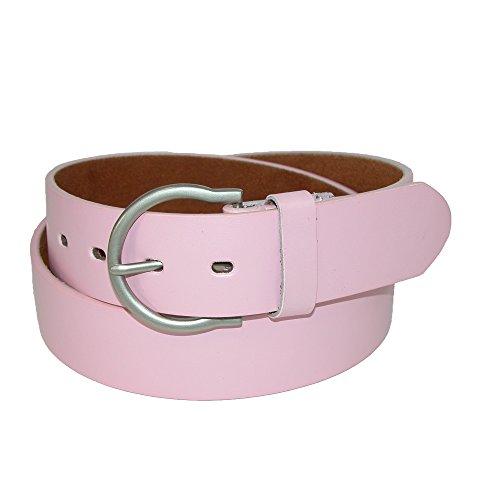 Bridle Jean Belt (CTM Womens Basic Bridle Belt, Small, Light)