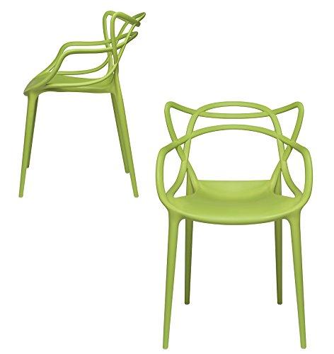 Amazon.com: Juego de 2 sillones de diseño moderno para ...