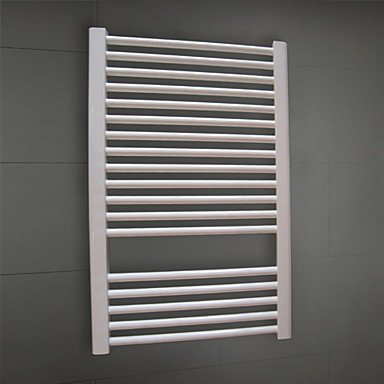 LN the bathroom LI 550W Hydronic Low-Carbon Steel White Painting Wall Mount Square Pipe Towel Warmmer Drying Rack