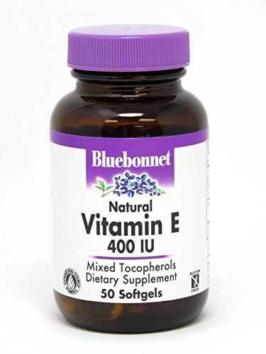 BlueBonnet Vitamin E 400 IU Mixed Softgels, 50 Count