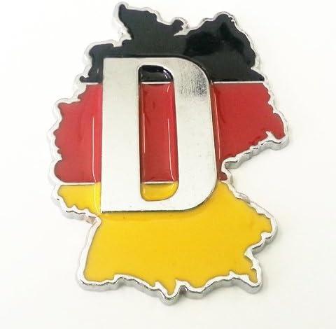 3d Metall Deutschland Germany Metall Aufkleber Auto Emblem Sticker Auto