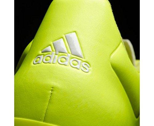 Adidas ACE 15.2 FG/AG Leather football shoes black / neon / white Black cQ1xN2Le