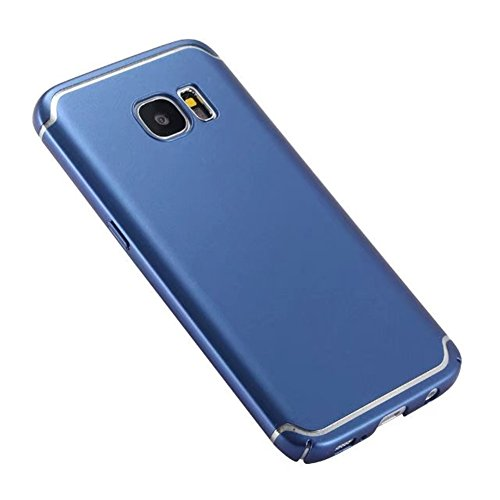 Récurer Coque Adamark Protection Anti Rigide S7 Ultra s7 S7 Pc Bumper Housse scratch Slim Légère Pour galaxy Case Shell Samsung Bleu Thin Edge Bleu Galaxy Back Étui S7 Zqqdr