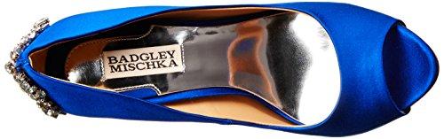 Badgley Mischka Vrouwen Kiara Platform Pomp Saffier