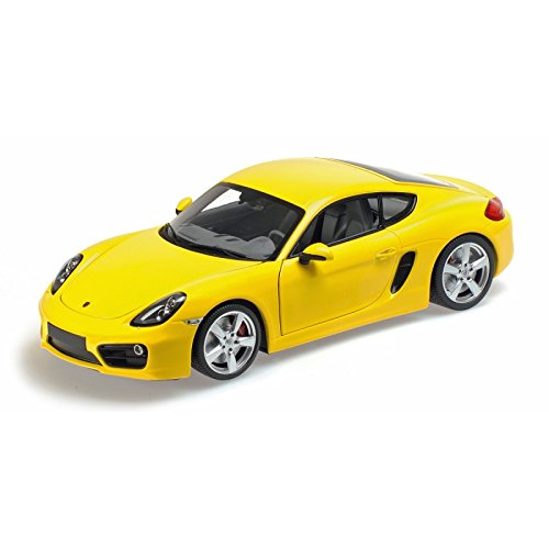 18th Scale Yellow - Minichamps 1:18 2013 Porsche Cayman (Yellow)