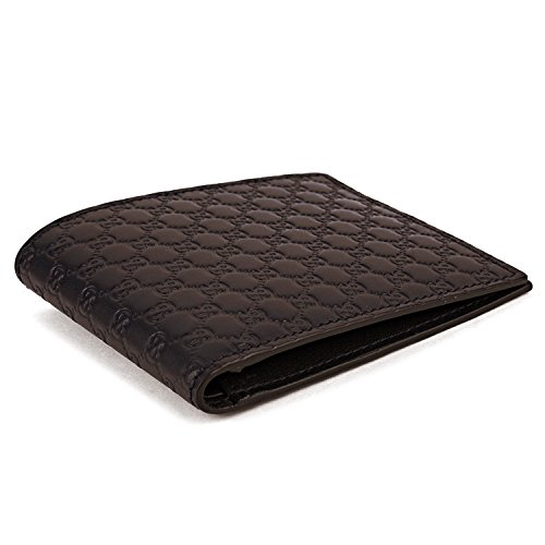 1328d2ee5fa Gucci GG Micro Guccissima Monogram Dark Brown Men s Bifold Wallet - 260987  BMJ1N 2044 - 001147 - Buy Online in KSA. Luggage products in Saudi Arabia.