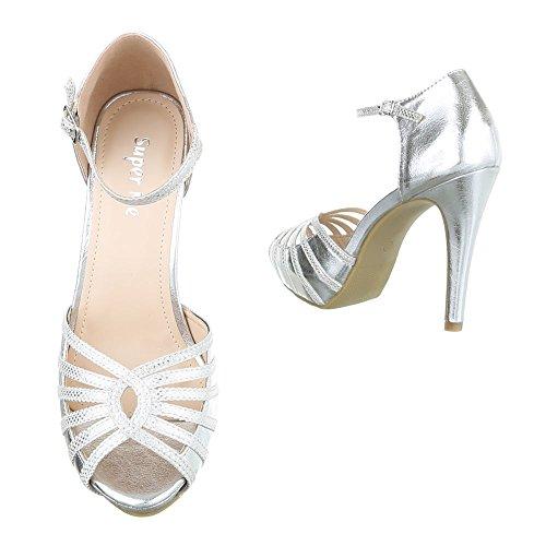 Ital-Design - Plataforma Mujer plata