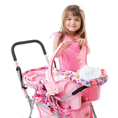 Joovy Toy Infant Car Seat in Pink