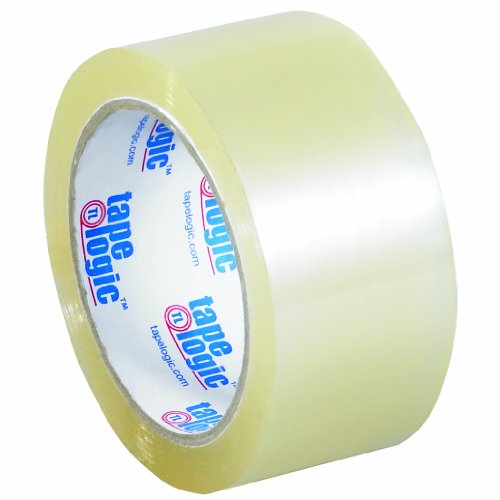 Tape Logic 170 Acrylic Adhesive Tape, 1.8 mil Thick, 55 yds Length x 2