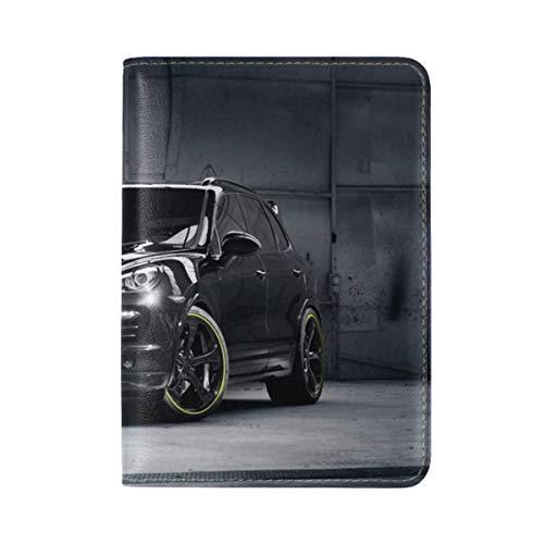 Porsche Cayenne Techart Porsche Tuning Suv Jeep Leather Passport Holder Cover Case Travel One Pocket