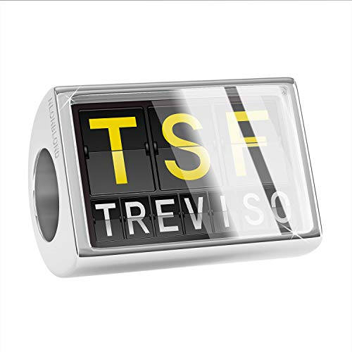 NEONBLOND Charm TSF Airport Code for Treviso Bead ()