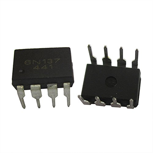 ADAM SYEX EL6N137 high speed optocoupler isolator in line DIP8 (10)