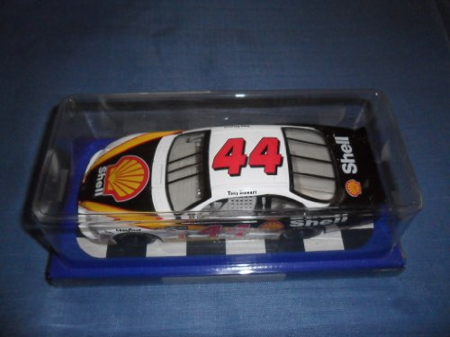 2001 NASCAR Winner's Circle . . . Tony Stewart #44 Shell Pontiac Grand Prix 1/24 Diecast . . . Includes Display Box