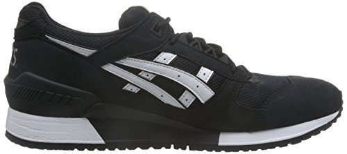 Femme H6w7n Black White Asics Chaussures pZwqES
