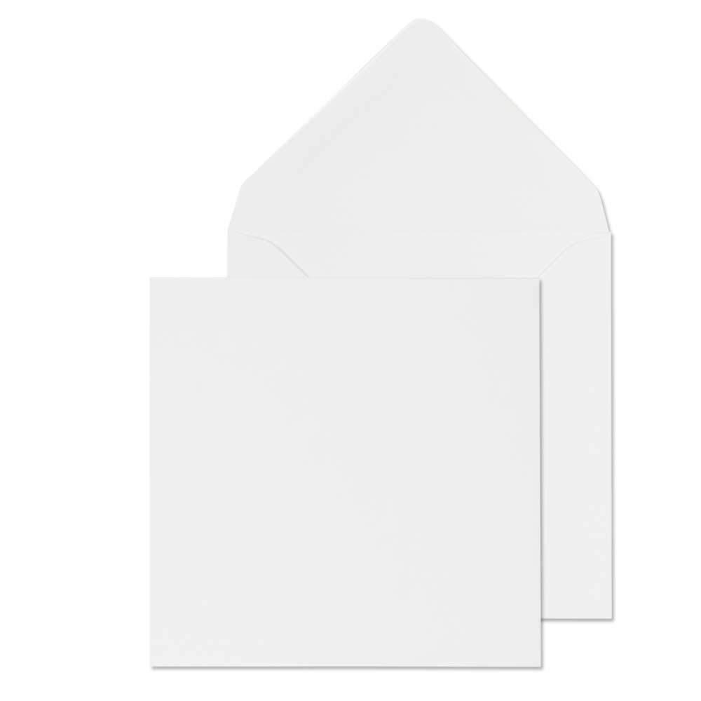 Quadratisch (15,2 x 15,2 15,2 15,2 cm) weiß Karten und Umschläge von Cranberry Card Company (200) B00KTGDDIG | Großer Verkauf  76c2f3
